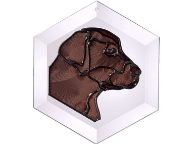 Chocolate Lab Suncatcher by Pet Prints EW131C