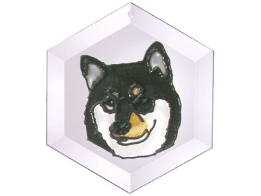 Shiba Inu Suncatcher by Pet Prints EW291