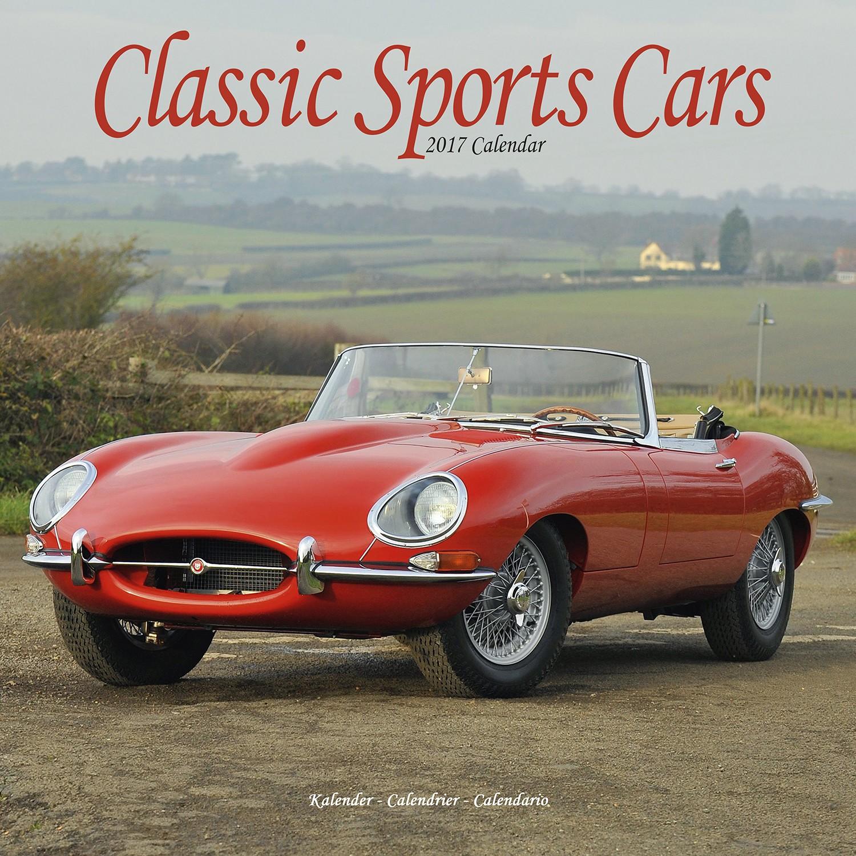 Classic Sports Cars Calendar 2017