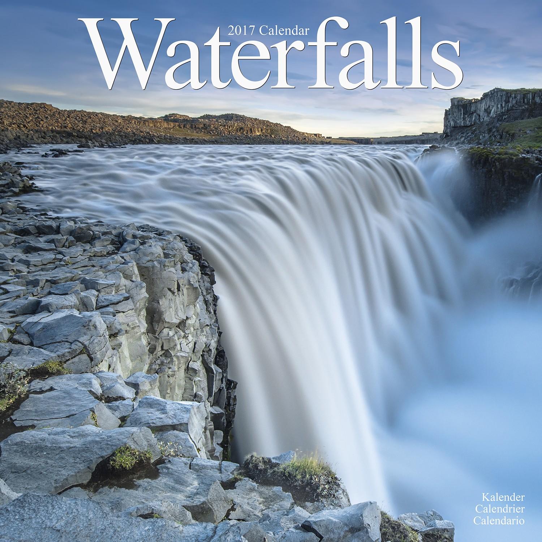 Waterfalls Calendar 2017   Pet Prints Inc.