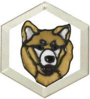 Akita Suncatcher by Pet Prints EW254