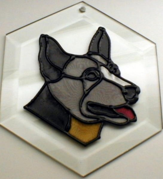 Australian Cattledog Suncatcher by Pet Prints EW285