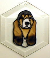 Basset Hound Suncatcher by Pet Prints EW098