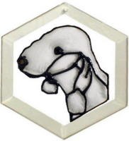 Bedlington Terrier Suncatcher by Pet Prints EW286