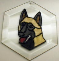Belgian Malinois Suncatcher by Pet Prints EW263