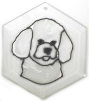 Bichon Frise Suncatcher by Pet Prints EW226
