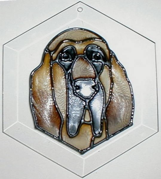 Bloodhound Suncatcher by Pet Prints EW256