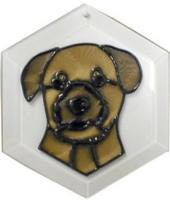 Border Terrier Suncatcher by Pet Prints EW228