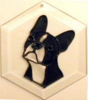 Boston Terrier Suncatcher by Pet Prints EW243