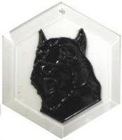 Bouvier des Flandres Suncatcher by Pet Prints EW284
