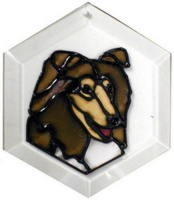 Collie Suncatcher by Pet Prints EW185