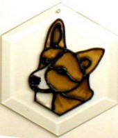 Corgi Suncatcher by Pet Prints EW183