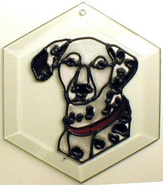 Dalmation Suncatcher by Pet Prints EW205