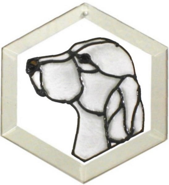 English Setter Suncatcher by Pet Prints EW165