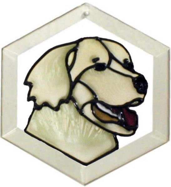 Golden Retriever II Suncatcher by Pet Prints EW140