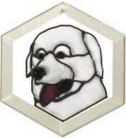 Great Pyrenees Suncatcher by Pet Prints EW257