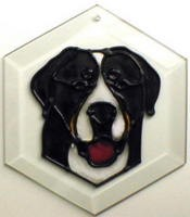 Greater Swiss Mountain Dog I Suncatcher by Pet Prints EW231