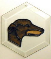 Greyhound I Suncatcher by Pet Prints EW121