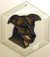 Greyhound II Suncatcher by Pet Prints EW210