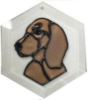 Irish Setter Suncatcher by Pet Prints EW164