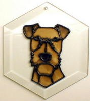 Irish Terrier Suncatcher by Pet Prints EW207