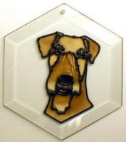 Airedale Suncatcher by Pet Prints EW191