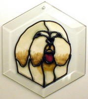 Lhasa Apso Suncatcher by Pet Prints EW163