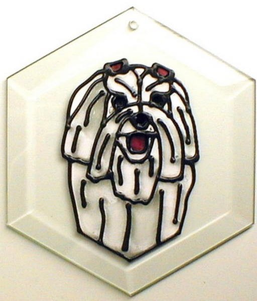 Maltese Suncatcher by Pet Prints EW229