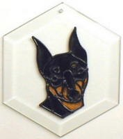 Miniature Pinscher Suncatcher by Pet Prints EW239