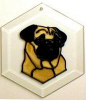 Pug Suncatcher by Pet Prints EW188