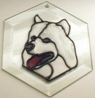 Samoyed Suncatcher by Pet Prints EW234