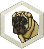 Shar Pei Suncatcher by Pet Prints EW168