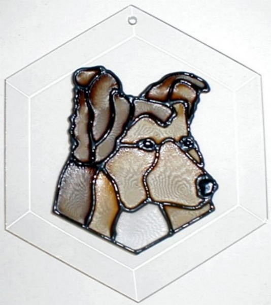 Sheltie Suncatcher by Pet Prints EW171