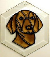 Vizsla Suncatcher by Pet Prints EW230