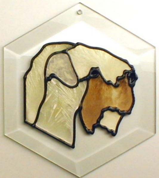 Wheaten Terrier Suncatcher by Pet Prints EW266