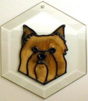 Yorkie Puppy Suncatcher by Pet Prints EW280