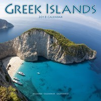 Greek Islands Wall Calendar 2018