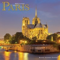 Paris Wall Calendar 2018