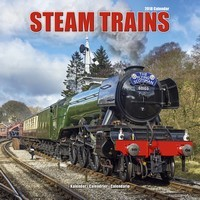 Steam Trains Wall Calendar 2018