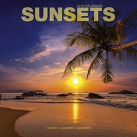 Sunsets Wall Calendar 2018