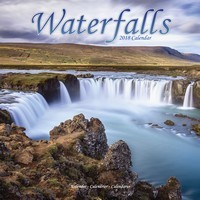 Waterfalls Wall Calendar 2018