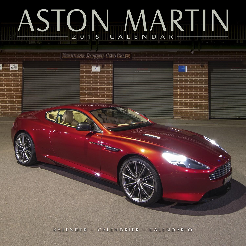 Aston Martin Calendar 2016