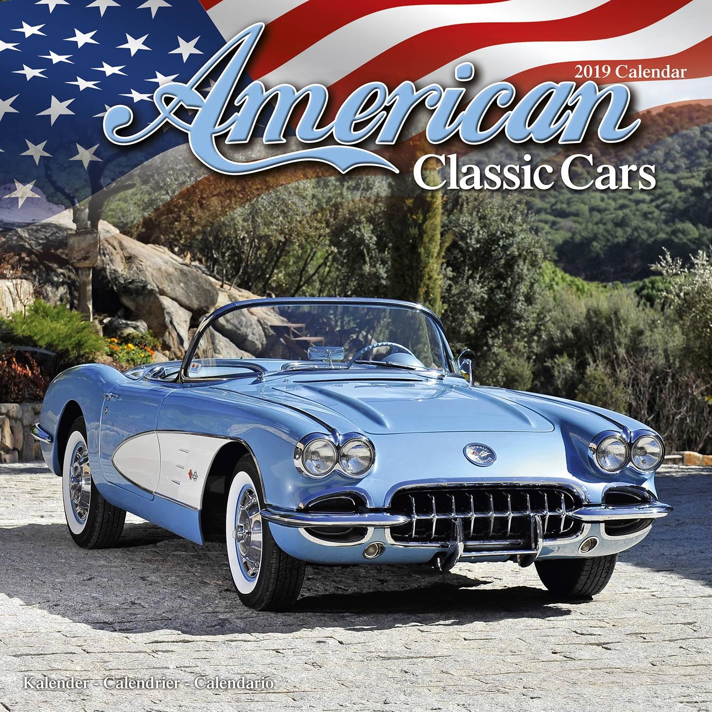 American classic cars calendar 2019 pet prints inc for American classics inc
