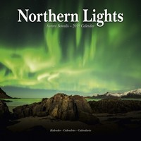 Northern Lights Wall Calendar 2019