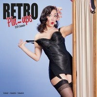 Retro Pin Ups  Wall Calendar 2019