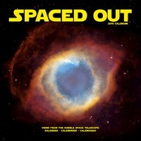 Spaced Out Wall Calendar 2019