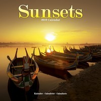 Sunsets Wall Calendar 2019