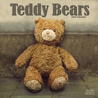 Teddy Bears Wall Calendar 2019