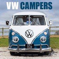 Vw Campers Wall Calendar 2019