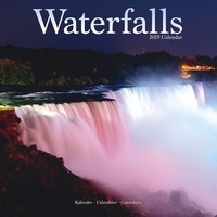 Waterfalls Wall Calendar 2019
